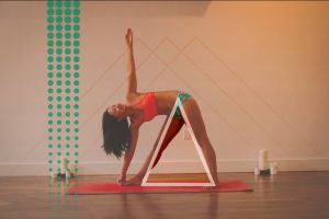 Triangle Pose, Rogue Yogi, Julie Tran Yoga, Science Yoga Sunday