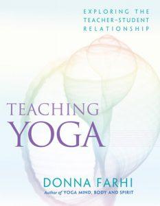 Teaching Yoga book cover